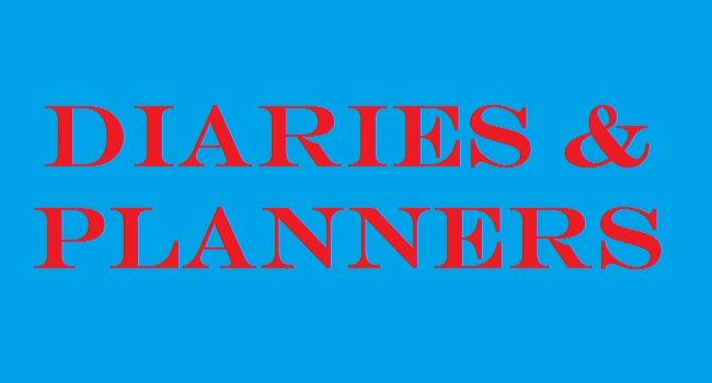 2018 Diaries & Planners