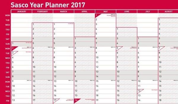 2017 Year Planner
