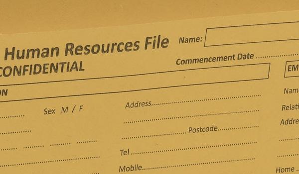 Personnel Folders
