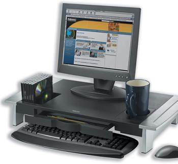 Monitor Riser From Fellowes Ergonomic Office Octopus