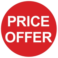 price offer sign