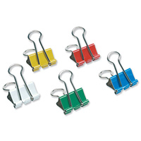 Coloured-Foldback-Clips