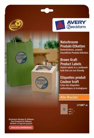 L7106-Brown-Kraft-Label