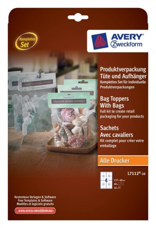 avery bag toppers