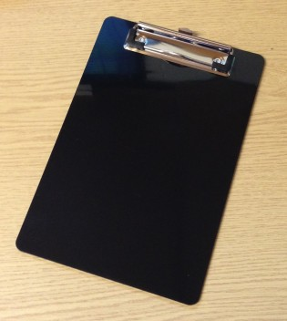 A5-black-plastic-clipboards