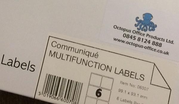 communique label 6