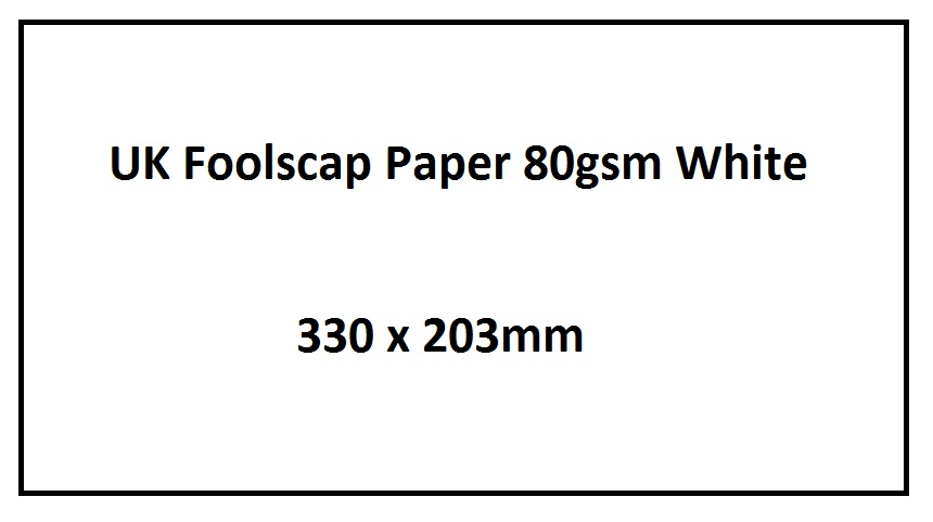 Foolscap Legal Paper