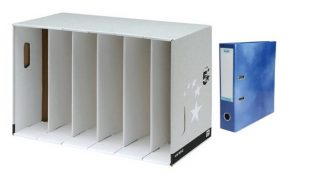 Lever Arch File Module Storage Solution 9