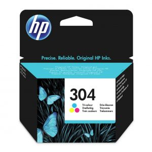 HP 304XL Colour Ink Cartidge For The Deskjet 2630, 3720 & 3730 printer