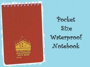 Buy A Waterproof Notebook For Writing In The Wet 8