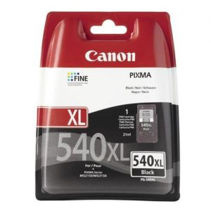 Canon PG-540XL Inkjet Cartridge High Yield Page Life 600pp Black Ref 5222B005AA | 100123