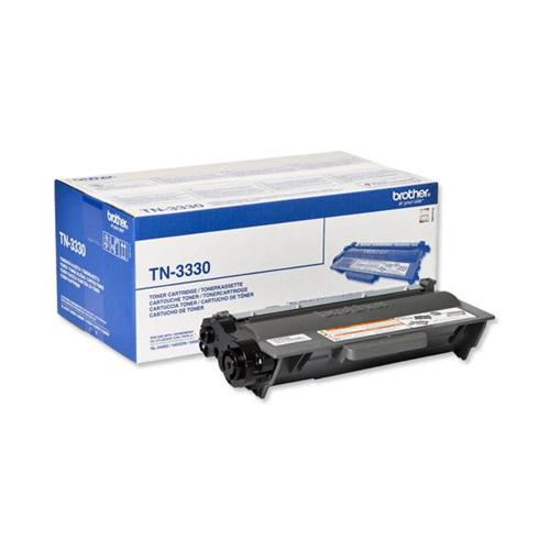 Brother Laser Toner Cartridge Page Life 3000pp Black Ref TN3330 | 102155