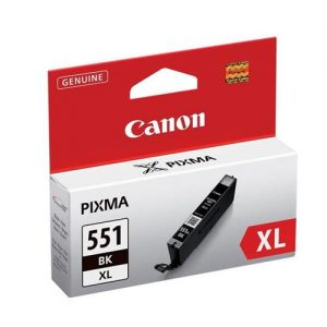Canon CLI-551XL Inkjet Cartridge Page Life 1125 Photos Black Ref 6443B001 | 103454