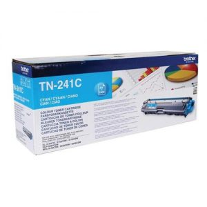 Brother Laser Toner Cartridge Page Life 1400pp Cyan Ref TN241C | 104859