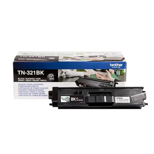 Brother Laser Toner Cartridge Page Life 2500pp Black Ref TN321BK | 112050