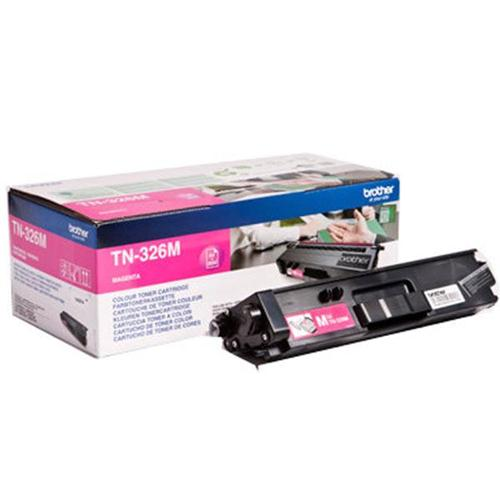 Brother Laser Toner Cartridge High Yield Page Life 3500pp Magenta Ref TN326M | 112058