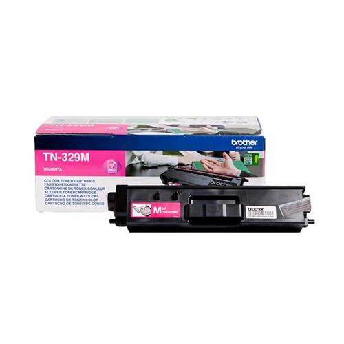 Brother Laser Toner Cartridge Super High Yield Page Life 6000pp Magenta Ref TN329M | 112065