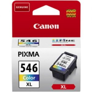 Canon CLI-546 XL Inkjet Cartridge Page Life 400pp 13ml Colour Ref 8288B001 | 112085