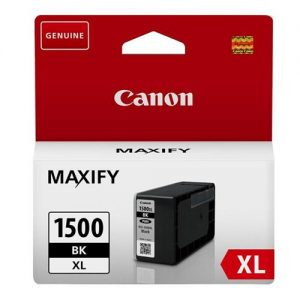 Canon PGI-1500XLBLK Inkjet Cartridge High Yield 34.7ml Page Life 1200pp Black Ref 9182B001AA | 123293