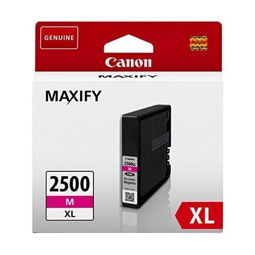 Canon PGI-2500XLM Inkjet Cartridge High Yield 19.3ml Page Life 1295pp Magenta Ref 9266B001AA | 123300