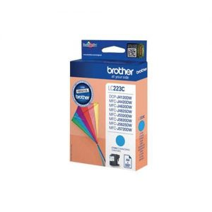 Brother Inkjet Cartridge 5.9ml Page Life 550pp Cyan Ref LC223C | 123304