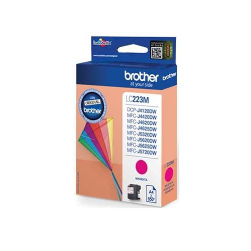 Brother Inkjet Cartridge 5.9ml Page Life 550pp Magenta Ref LC223M   123307