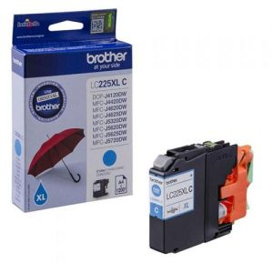 Brother Inkjet Cartridge High Yield 11.8ml Page Life 1200pp Cyan Ref LC225XLC | 123310
