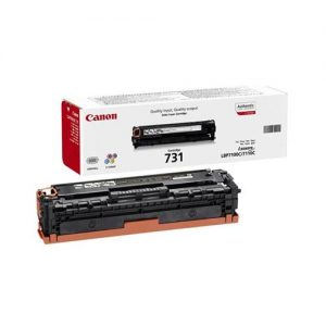 Canon 731 Laser Toner Cartridge Page Life 1500pp Yellow Ref 6269B002 | 123492