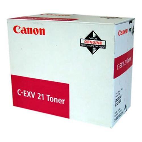 Canon CEXV21 Laser Toner Cartridge Page Life 14000pp Magenta Ref CANONCEXV21 | 123499
