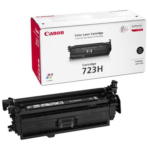 Canon 723H Laser Toner Cartridge High Yield 10000pp Black Ref 2645B002AA | 123544