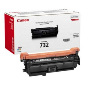Canon 732 Laser Toner Cartridge Page Life 6400pp Yellow Ref 6260B002 | 123665