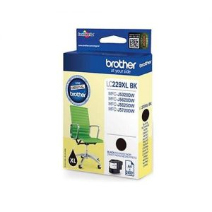 Brother Inkjet Cartridge Page Life 2400pp Black Ref LC229XLBK | 123912