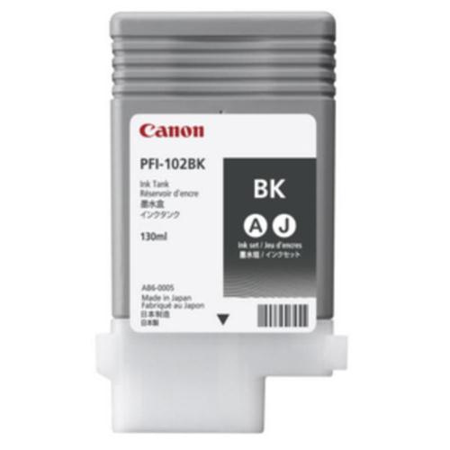 Canon PFI-102BK Ink Tank Black Ref 0895B001AA | 124006