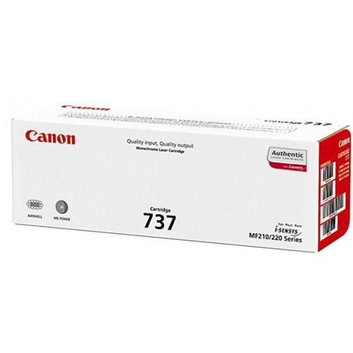 Canon 737 Laser Toner Cartridge Page Life 2400pp Black Ref 9435B002 | 127628