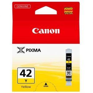 Canon CLI-42Y Inkjet Cartridge Capacity 13ml Yellow Ref 6387B001 | 132785