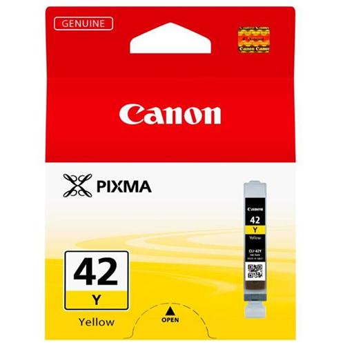 Canon CLI-42Y Inkjet Cartridge Capacity 13ml Yellow Ref 6387B001 | 132785