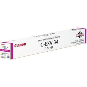 Canon CEXV34 Toner Cartridge Page Life 19000pp Magenta 3784B002 | 138914