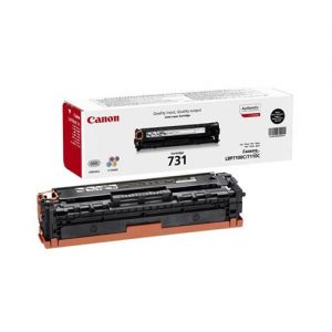 Canon 731 Toner Cartridge Page Life 1400pp Black Ref 6272B002 | 140390