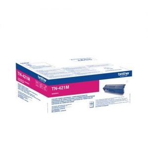 Brother TN421M Toner Cartridge Page Life 1800pp Magenta Ref TN421M | 141684