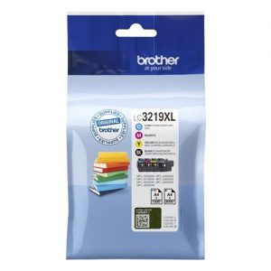 Brother LC3219XLVAL Inkjet Cartridge Page Life 3000pp Black 1500pp Colour CMYK Ref LC3219XLVAL [Pack 4]   146242