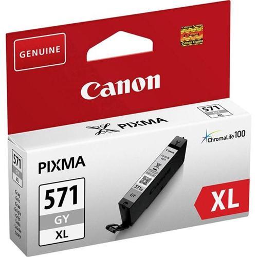 Canon CLI-571XL Inkjet Cartridge Page Life 650pp Grey 0335C001 | 149960
