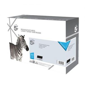 5 Star Remanufactured Laser Toner Cartridge Page Life 5000pp Cyan [HP 410X CF411X Alternative] | 153627