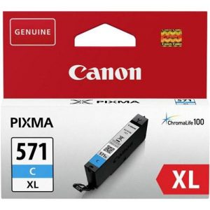 Canon CLI-571XL Ink Cartridge Page Life 680pp Cyan Ref 0332C001 | 154536