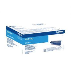 Brother TN910C Toner Cartridge Ultra High Yield 9000pp Cyan | 155008