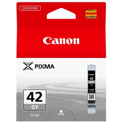 Canon CLI-42 Inkjet Cartridge Page Life 492pp Grey Ref 6390B001 | 157303
