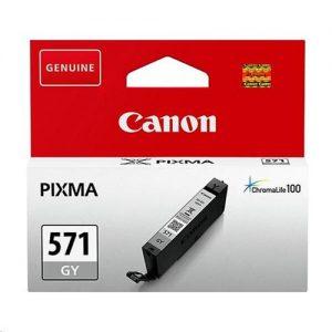 Canon CLI-571 Inkjet Cartridge Page Life 125pp Capacity 7ml Grey Ref 0389C001 | 159572