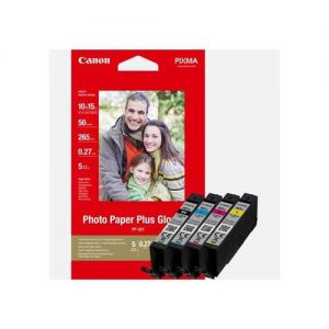 Canon CLI-581XL Inkjet Cartridge Page Life 515pp x 3 B/C/M/Y 312pp Photo Value Pack Ref 2052C004 [Pack 4] | 160659