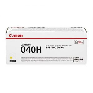 Canon 040H Laser Toner Cartridge High Yield Page Life 10000pp Yellow Ref 0455C001 | 161905