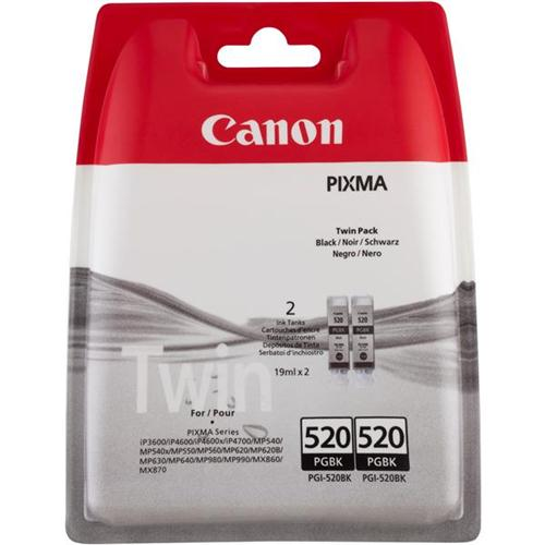 Canon PGI-35BK Inkjet Cartridge Page Life 191pp Black Ref 1509B012 [Pack 2] | 162923