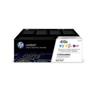 Hewlett Packard [HP] 410X Laser Toner Cartridges HY Page Life 15000x3pp C/M/Y Ref CF252XM [Pack 3] | 162931